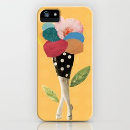 all flowers in time bend towards the sun iPhone Case