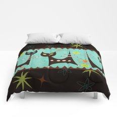 Atomic Cats Comforters