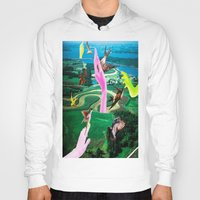 thrones Hoodies featuring Do androids dream of electric sheep? by Laura Nadeszhda