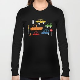 Busy Traffic Pattern Long Sleeve T-shirt