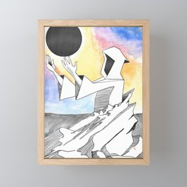 Greta Van Fleet Wizard Monument Framed Mini Art Print