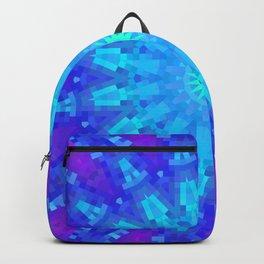 Violet Mandala Mosaic Backpack