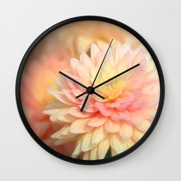 The End of Summer by TL Wilson Photography Wall Clock