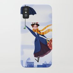 Mary Poppins iPhone X Slim Case