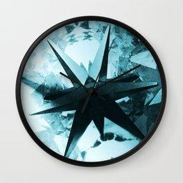 Mystic Merkaba Wall Clock
