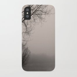 Misty day iPhone Case