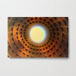 Seeing the Light_ Red  Metal Print