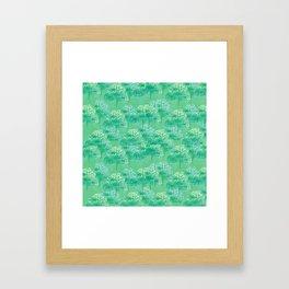 Forest Light Framed Art Print