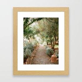Botanical paradise | Morocco travel photography Framed Art Print