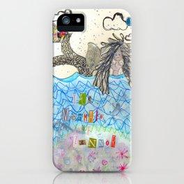 The Mermaid Of Zennor iPhone Case