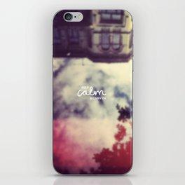 Keep Calm & Carry On iPhone Skin