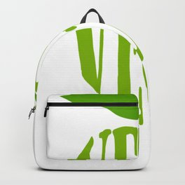 Vegan Green Apple Veganism Vegan Gift Backpack