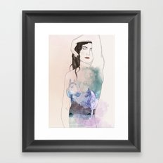 Good girls Framed Art Print