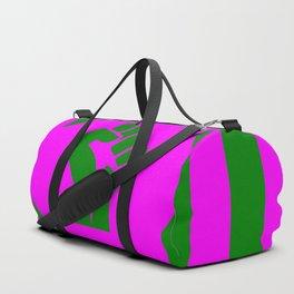 feminist fist logo Duffle Bag