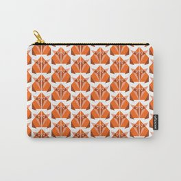 Retro Origami Fox Carry-All Pouch