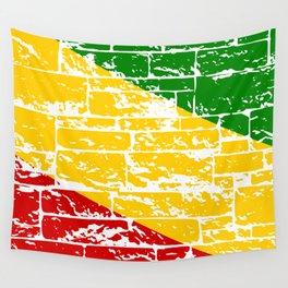 Rastafari Flag Wall Tapestry