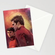 Star Trek: I have loved the stars too fondly to be fearful of the night Stationery Cards