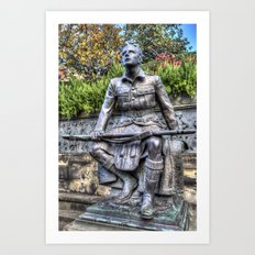 Scots American Memorial Edinburgh Art Print
