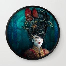 Queen of the Wild Frontier Wall Clock