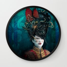 Queen of the Wild Frontier Wall Clock