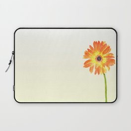orange gerbera Laptop Sleeve