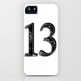 13 b-w iPhone Case