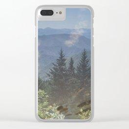 """ Smokies "" Clear iPhone Case"