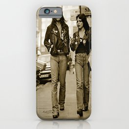 Lemmy and Joan iPhone Case