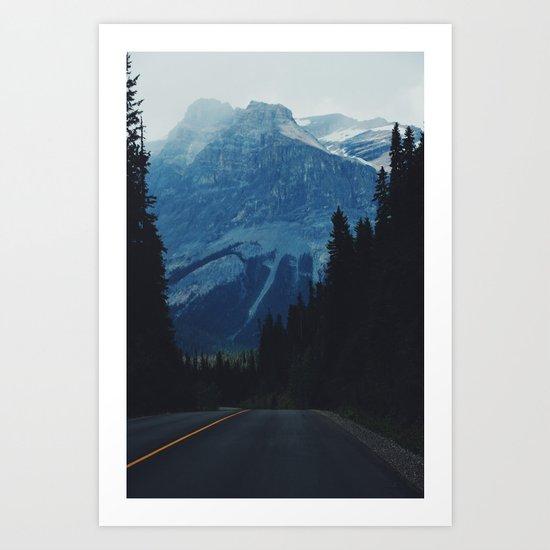 Canadian Road II Art Print