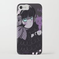 goth iPhone & iPod Cases featuring Goth Tea by Princess Misery