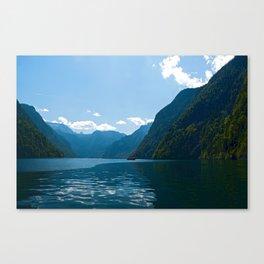 Koenigssee Lake with Alpes Canvas Print