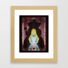 Shadow Collection, Series 1 - Heart Framed Art Print