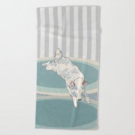 Quiet Beach Towel