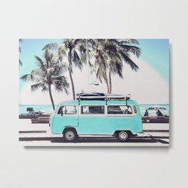 Beach Experience Metal Print