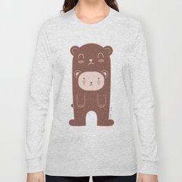 WILD + BEAR print Long Sleeve T-shirt