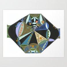 Season Wheel Art Print