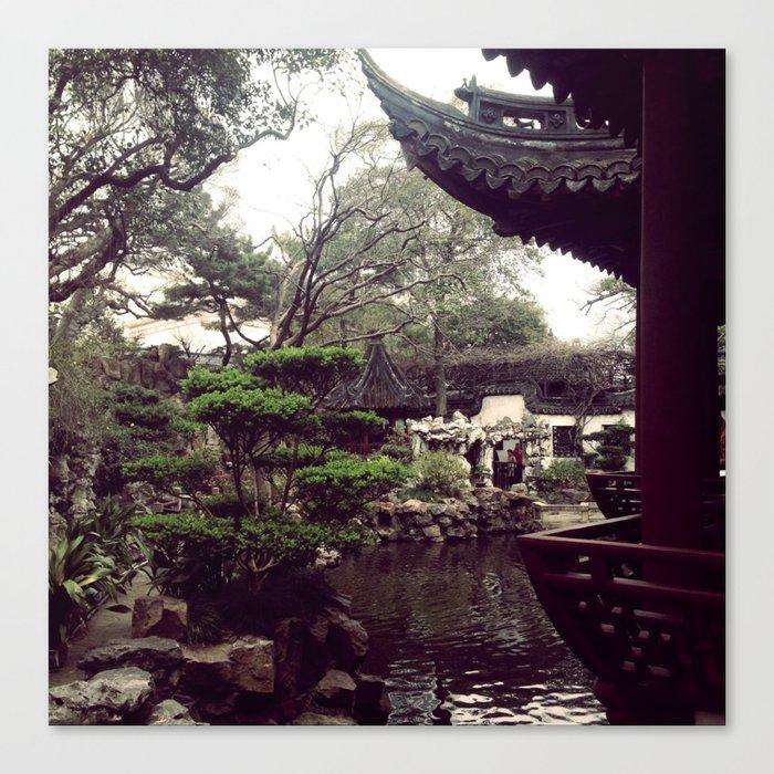 Yuyuan Garden  Canvas Print