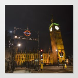 Westminster London Canvas Print