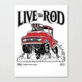1956 FORD PICK-UP Workin' Hot Rod series Canvas Print