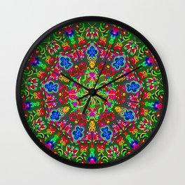 Magic butterfly circle Wall Clock