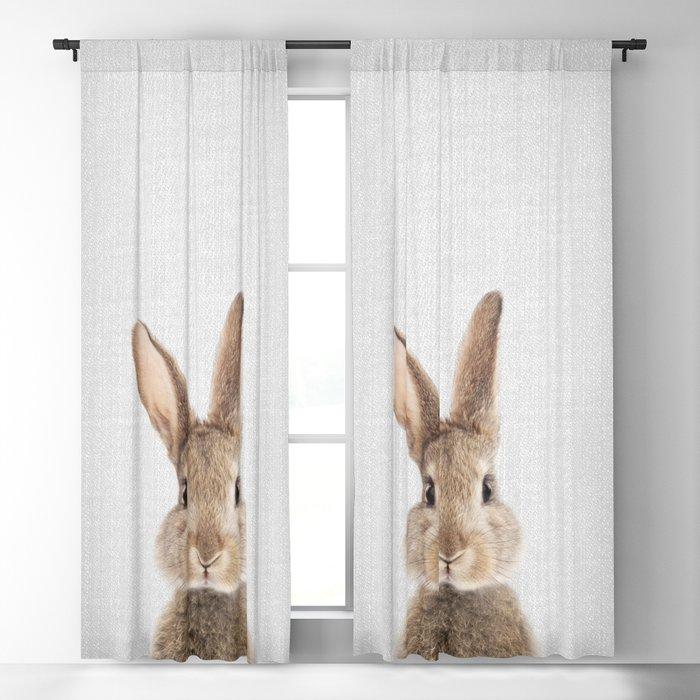 Rabbit - Colorful Blackout Curtain