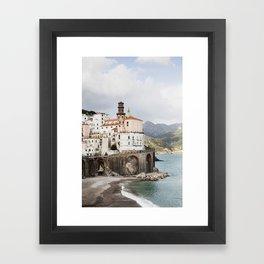 Amalfi Coast, Atrani Framed Art Print