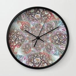 Mandala Dreams Wall Clock