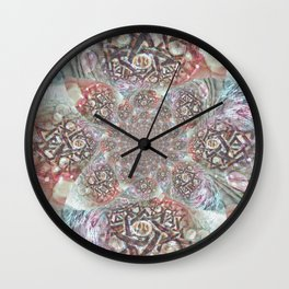 Mandala Dreams Wall Clock