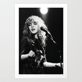 Stevie Nicks Music Poster Canvas Wall Art Home Decor, No Frame Art Print