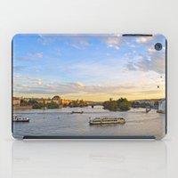 prague iPad Cases featuring Prague by Barrettish