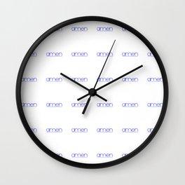 amen 2 Wall Clock