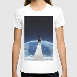 It's a long and lonely road ... T-shirt