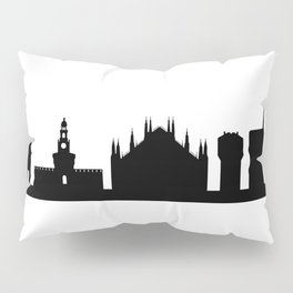 Milan skyline Pillow Sham
