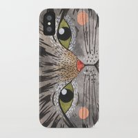 oana befort iPhone & iPod Cases featuring COOL CAT by Oana Befort